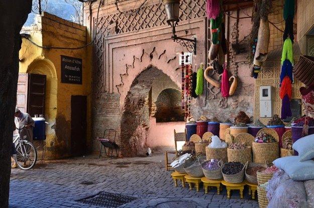 Marakéš, Maroko: Farebná exotika.