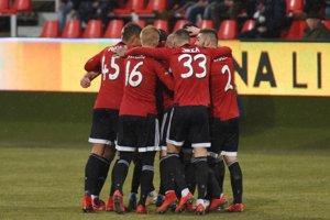 Ako prví mali istotu účasti v nadstavbovej časti o titul futbalisti Spartaka Trnava.