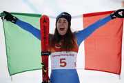 Talianka Sofia Goggiová vyhrala zjazd.