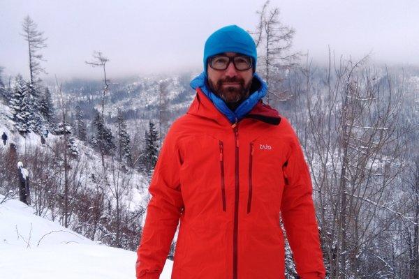 Martin Murár, zviezol sa v lavíne.