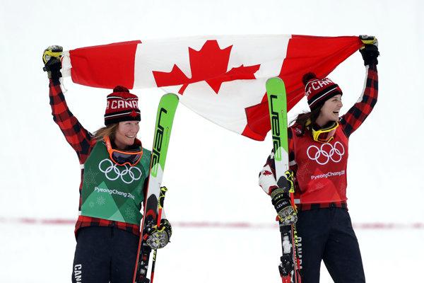 Kanaďanky obsadili v akrobatickom lyžovaní prvé dve miesta.