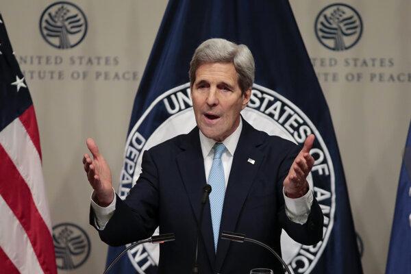 Americký minister zahraničia John Kerry.