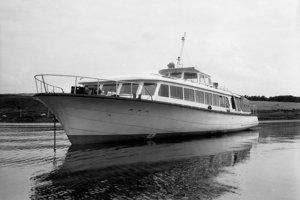 Pôvodná vyhliadková loď na Domaši.