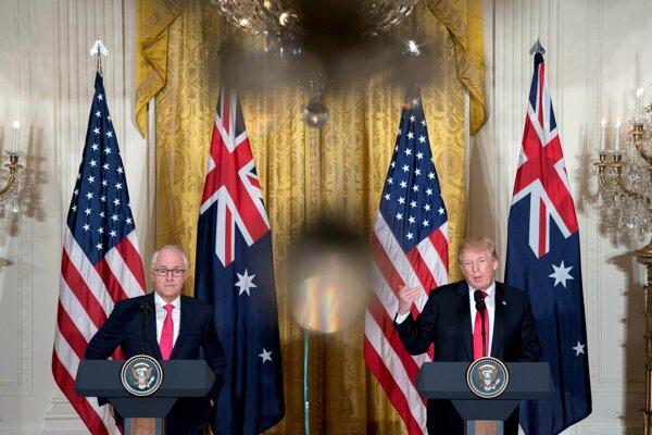 Trump sa stretol v Bielom dome s austrálskym premiérom