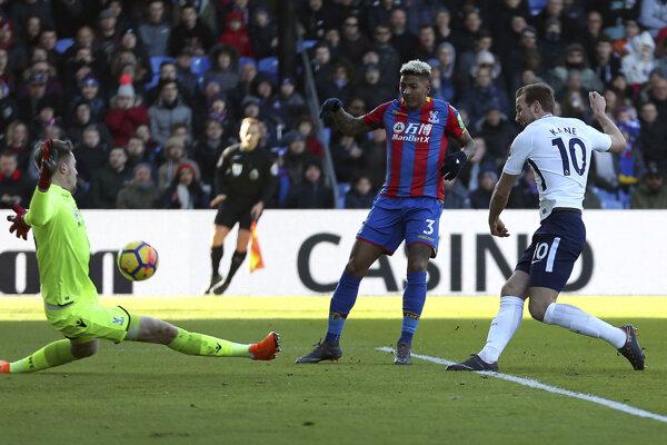 Tottenham triumfoval na ihrisku Crystal Palace vďaka gólu Harryho Kanea.