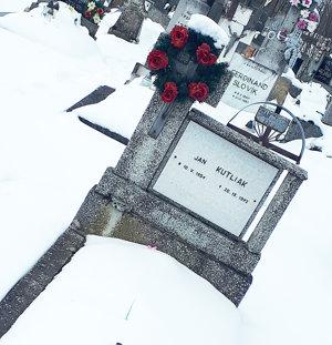 Ján Kutliak, Urbanov Jašek Kutliak spod Bučinky, odpočíva na rabčickom cintoríne.