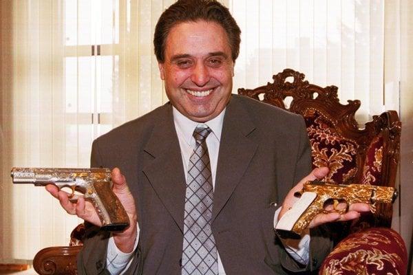 Jozef Majský ako úspešný podnikateľ v roku 2001.