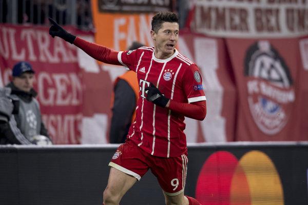 Robert Lewandowski je hviezdou Bayernu.