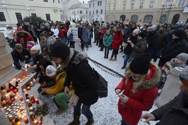 V Trnave sa zišlo asi 150 ľudí.