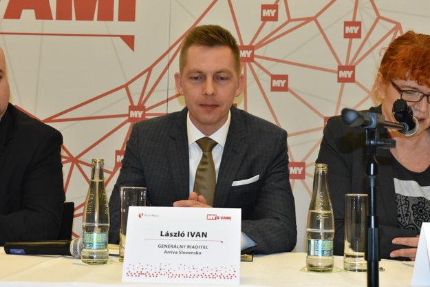 László Ivan, generálny riaditeľ Arriva Slovensko.