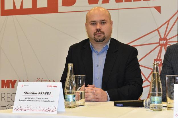 Stanislav Pravda, projektový špecialista Štátneho inštitútu odborného vzdelávania.