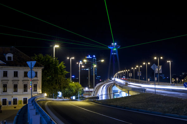 V meste vždy po zotmení mali ožiť významné objekty mesta vďaka svetelným a interaktívnym inštaláciám.
