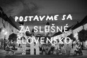 Aj v Trnave sa ľudia postavia za slušné Slovensko.