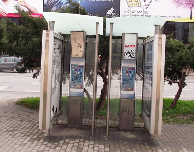 Telefónne automaty už v Nitre nie sú.