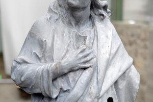 Socha apoštola Jána.