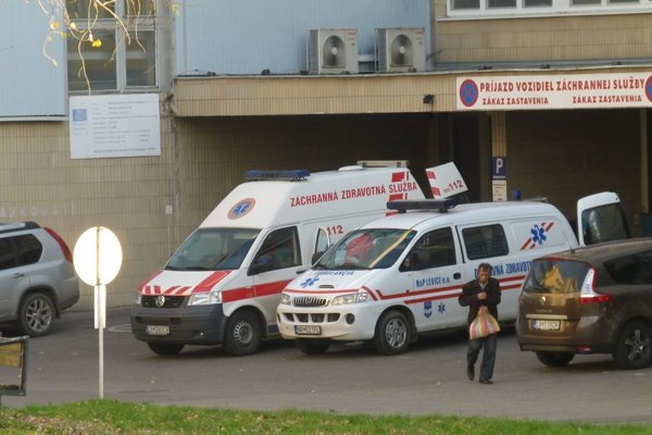 Nemocnica plánuje zmeniť časť, kde sa prijímajú pacienti.