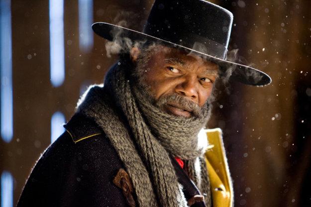 V úlohe lovca ľudí Marquisa Warrena v snímke Osem hrozných (2015)
