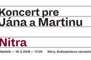 Koncert bude dnes o 17.00 h na Svätoplukovom námestí.