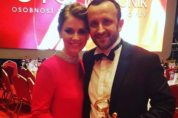 Prvý OTO. Ondrej Kandráč s manželkou Erikou zažili výnimočný večer.