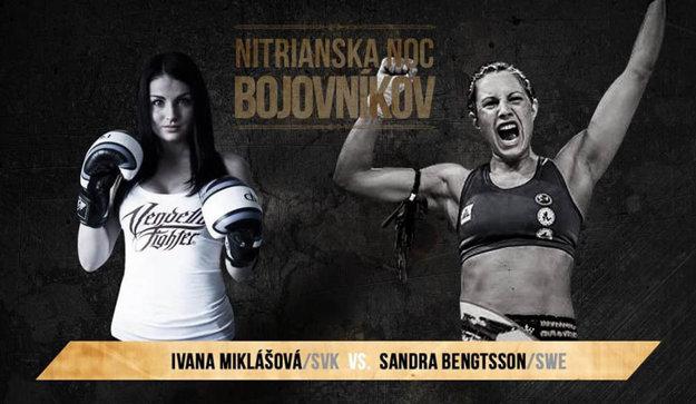 Nitrianka Ivana Miklášová zabojuje o titul majsterky Európy federácie WKN so Švédkou Bengtsson.