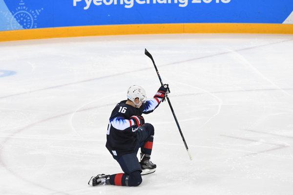Ryan Donato zažiaril na olympiáde v Pjongčangu.