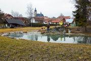 Známa minerálne jazierko v Liptovskom Jáne je azda najnavštevovanejšia atrakcia.
