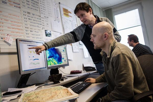 Meteorológovia vydali pre juhozápad Slovenska výstrahu 1. stupňa.