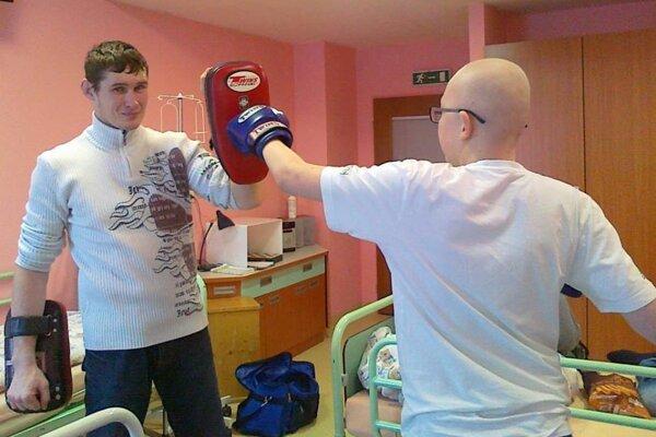 Mirko mal zo súboja s Vladkom výborný pocit. Môže existovať lepší liek pre dušu ako radosť?
