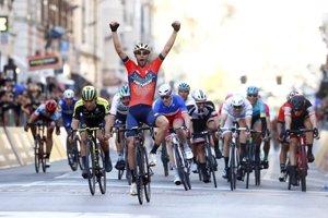 Vincenzo Nibali nedávno oslavoval víťazstvo na monumentálnej klasike Miláno - San Remo.