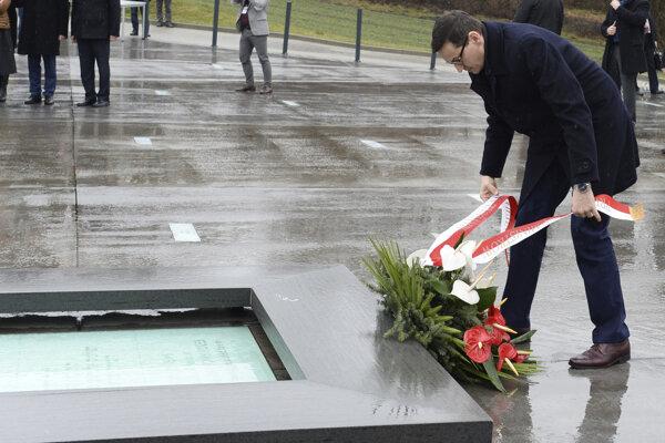 Morawiecki uviedol, že pomoc Židom je jednou z najkrajších stránok poľských dejín.