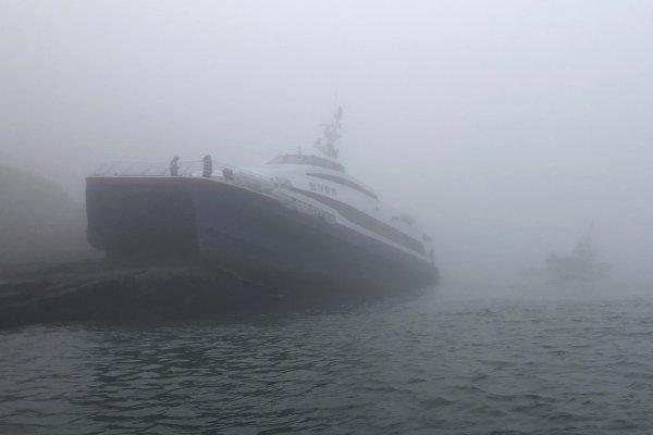 Do trajektu nevnikala voda ani sa nenakláňal.