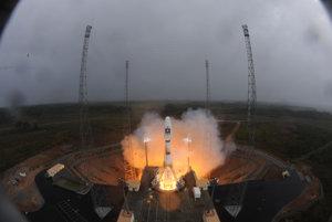 Štart jednej z družíc, ktorá je súčasťou projektu Galileo.