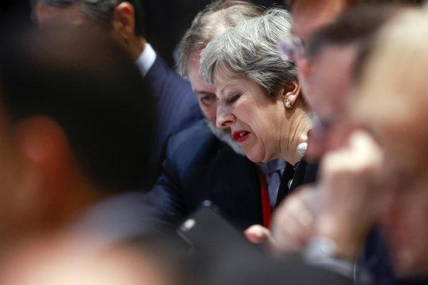 Britská premiérka Theresa Naxová.