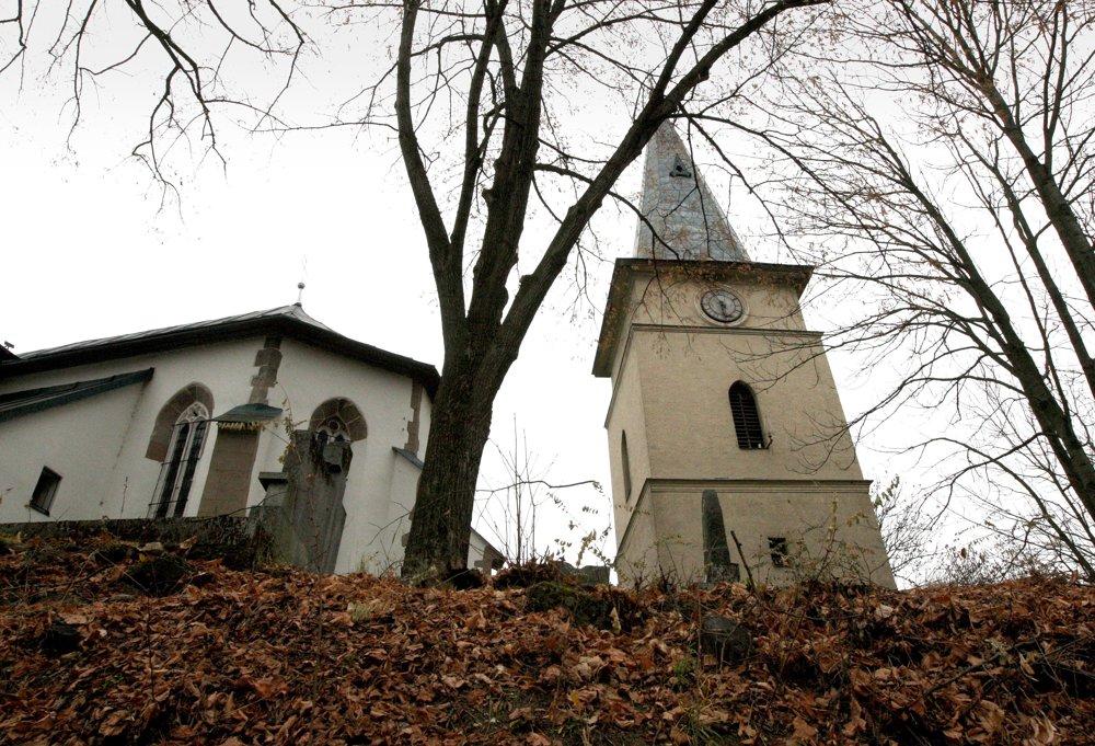 Kostol na Hôrke.