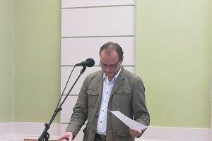 Prednosta Okresného úradu v Poltári Pavel Gavalec