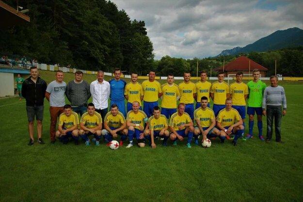 A-mužstvo ŠK Belá.