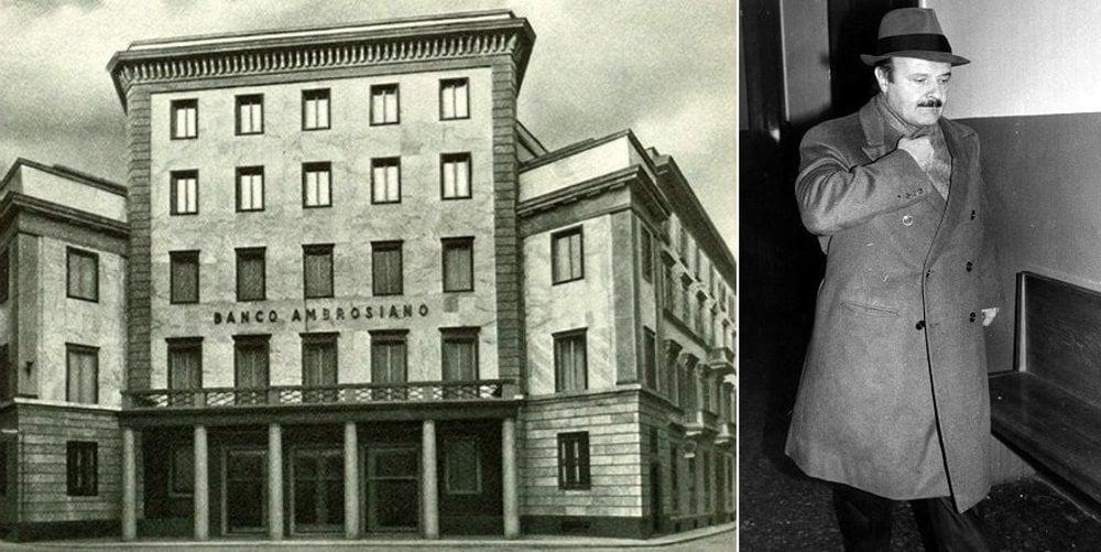 Banka Ambrosiano skrachovala v roku 1982 a jej šéf Roberto Calvi sa obesil v  Londýne pod mostom. Tvrdí sa, že ho obesili.