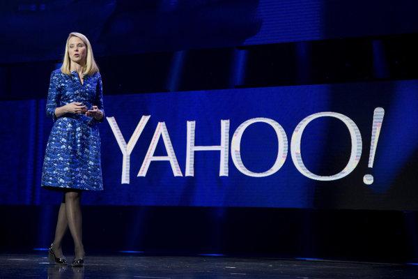 Šéfka spoločnosti Yahoo Marissa Mayer