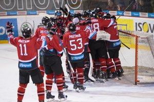 Hokejisti Banskej Bystrice - ilustračná fotografia.