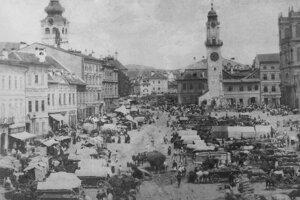 Jarmok v roku 1890