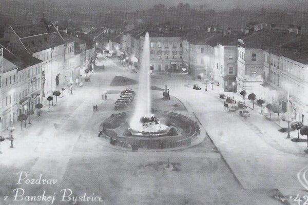 Námestie v roku 1913