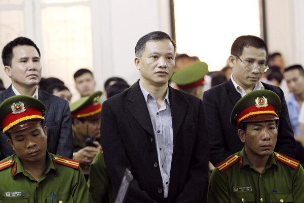 Odsúdený vietnamský právnik Nguyen Van Dai.