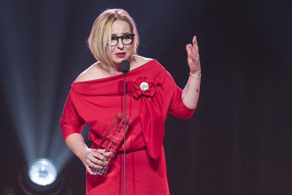 Producentka najlepšieho filmu minulého roka Wanda Hrycová