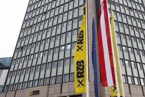 Sídlo banky Raiffeisen vo Viedni.