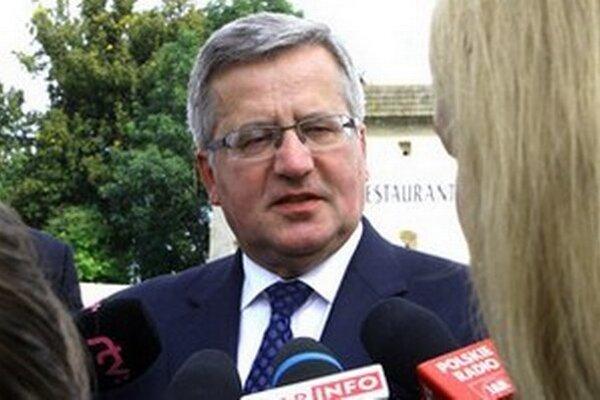 Poľský prezident Bronislaw Komorowski.