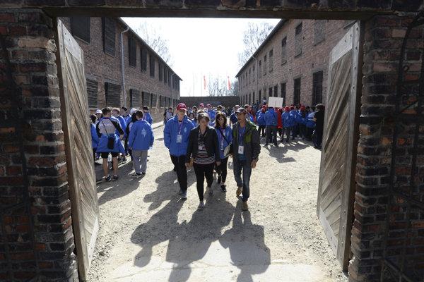 Holokaust si pripomenuli aj v samotnom Auschwitzi.