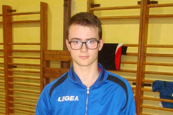 Michal Brablec mal v tretej lige druhú najvyššiu úspešnosť z Novohradčanov.