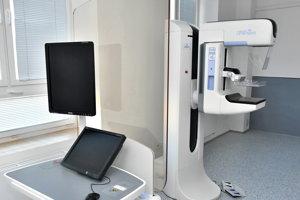 Mamografické pracovisko v malackej nemocnici je veľmi využívané.