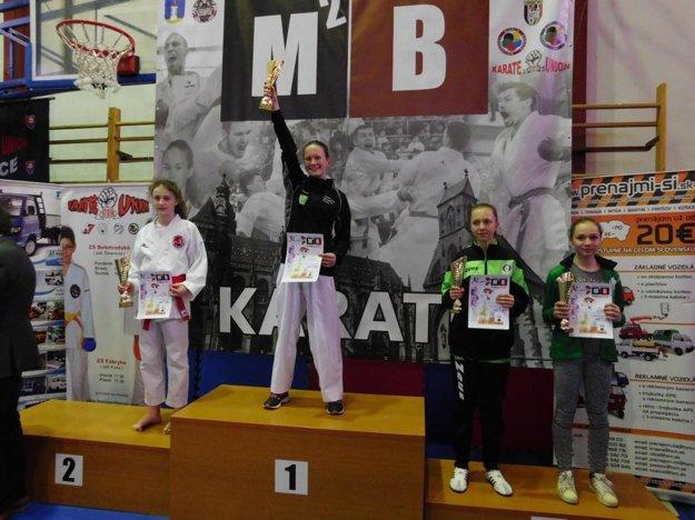 Memoriál M.Bozogáňa - 11.roč. v Košiciach, 21.01.2018, 1. miesto Bianka Polónyová