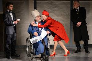 V martinskom divadle bola premiéra inscenácie Kráľ Lear (príbeh sveta). Titulnú úlohu zveril režisér Jánovi Kožuchovi.,